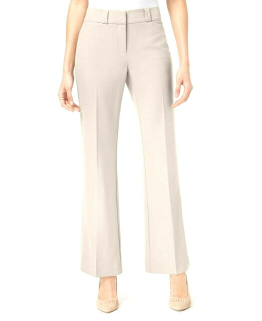 Alfani Womens Curvy Fit Straight Leg Pants Trousers Petites BHFO 8344