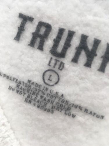 Def White Trunk New di Leppard White New Sweater Maglietta N Top high Ltd T7xgRq7n