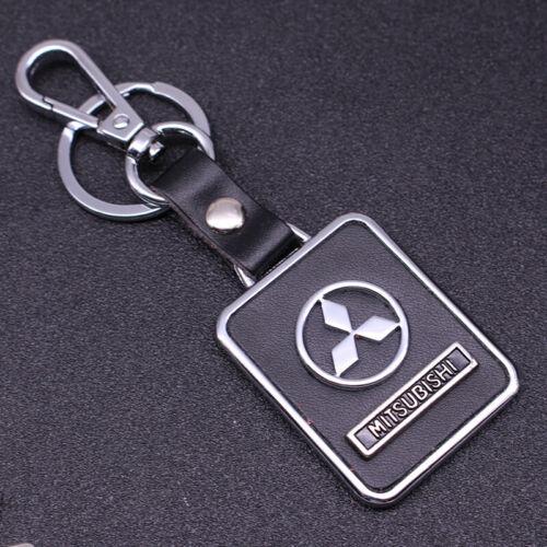 Auto 3D High Quality Car Logo Metal Key Chains Holder Keyring Fit for Mitsubishi