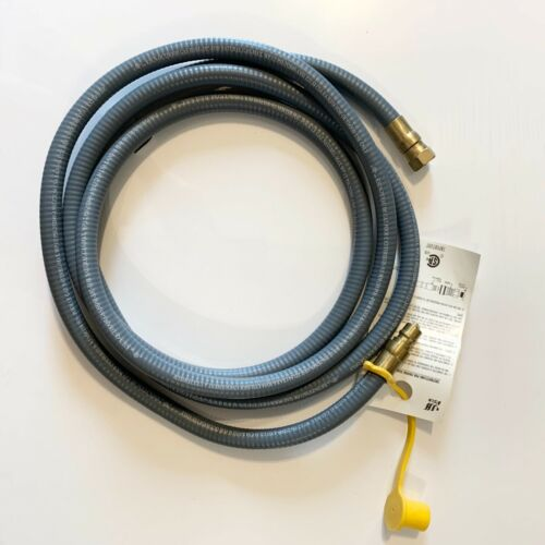 """NEW Universal Outdoor Natural Gas Hose 10ft 3//8/"""" Max WP"""