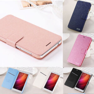 For Xiaomi Redmi 4A/Note 4X 5 Pro Luxury Flip Leather Wallet Magnetic Case Cover