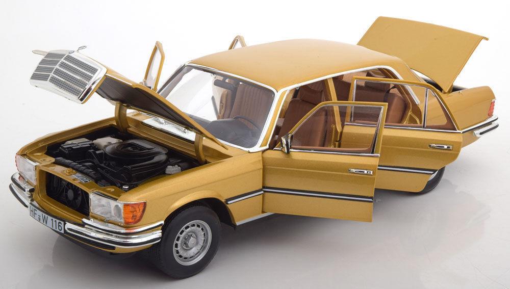 miglior reputazione NOREV 1976 Mercedes Benz 450 SEL 6.9 W116 oro oro oro Coloreeee 1 18nuovo  SUPER calienteT     offerta speciale