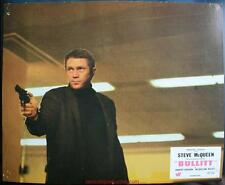 BULLITT 8 Photos Cinéma / French Lobby Cards STEVE MCQUEEN Ford Mustang Fastback