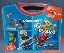 PLAYMOBIL FIRE FIGHTER TAKE ALONG SET #4180