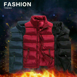 Blouse-Men-Warm-Sleeveless-Jacket-Casual-Winter-Coat-Top-Overcoat-Outwear-Coats