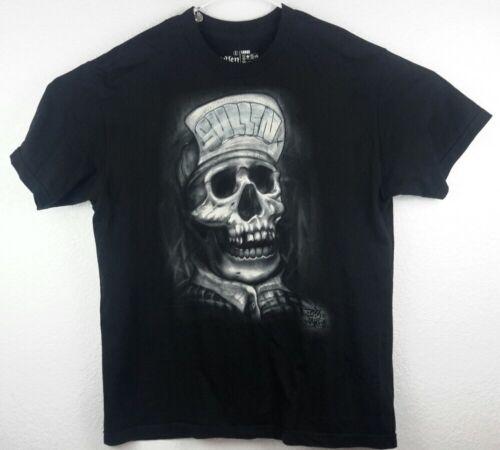 Sullen Art Collective Summer Urban Tattoos Skull White Tank Top Shirt SCM3216