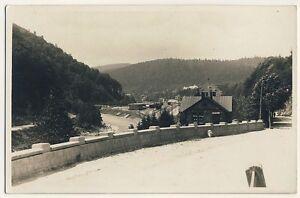 Rumaenien-KARPATEN-CARPATHIAN-MTS-Romania-Bahnhof-Station-Vintage-Photo-PC