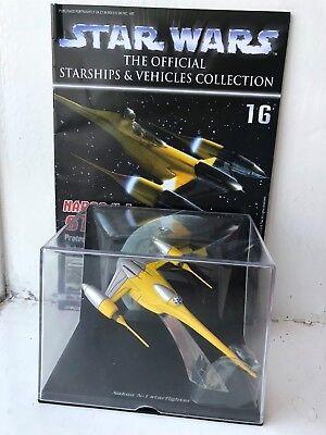 Starship /& Vehicles Naboo N-1 Starfighter De Agostini STAR WARS