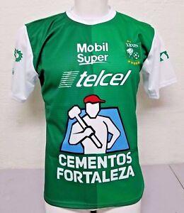 45c692063 Club Leon FC La Fiera Home Men s Soccer Jersey 2017 Made in Mexico ...