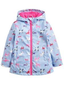 Joules Girls Rain Dance Rubber Coat NEW Sunday Best Dogs Sizes 4-8 Years