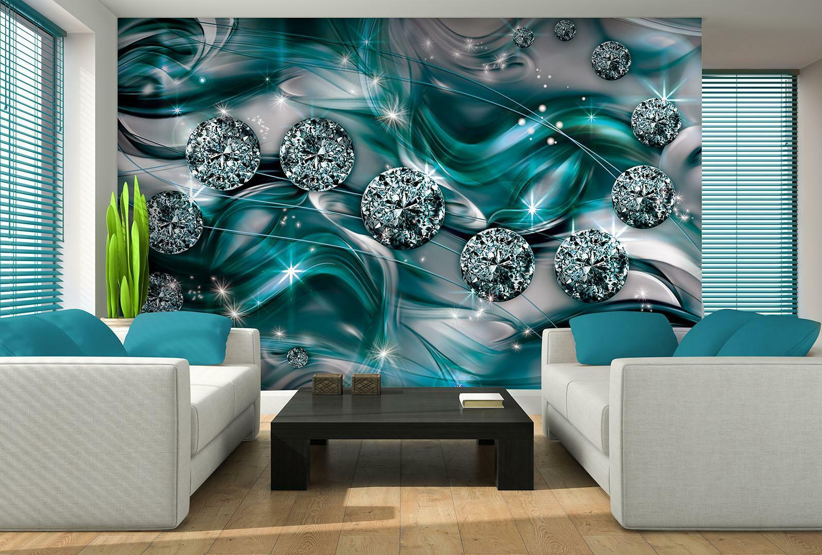 Vließ Fototapete Tapete Wandbild Diamant Abstraktion 310578_VEMVT