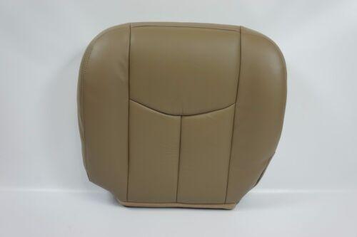 GMC Sierra BOTTOM LEATHER Seat Cover TAN 522 2003 004 2005 2006 Chevy Silverado