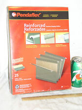 New Sealed Box 25 Green Pendaflex 4152 Premium Hanging File Folders Letter Size