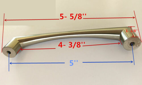 Cabinet Pull Drawer Handle Knob Kitchen Hardware Brushed Nickel Bathroom Vanity