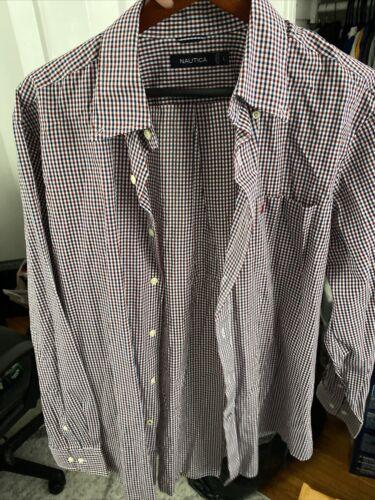 nautica mens button down shirt