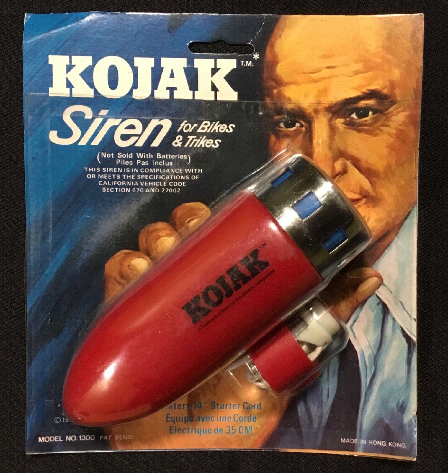 Kojak Bike Siren- 5 awesome things on ebay this week