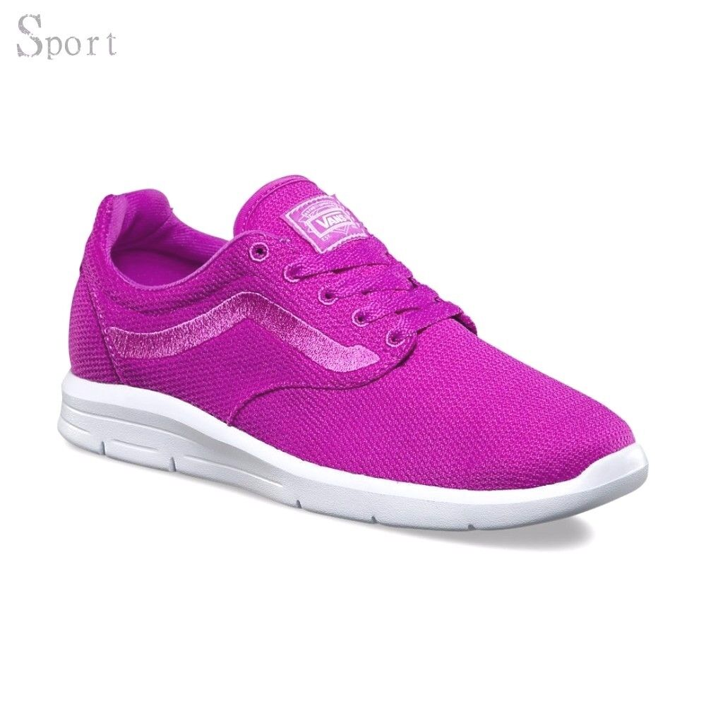 VANS ISO 1.5 (Mesh) Neon  Violet  UltraCush Lite Athletic  Chaussures  femmes  8.5