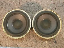 """1 PAIR BOSE 6.5"""" WOOFERS 8 OHM 50W PIN TERMINALS MODEL 201"""