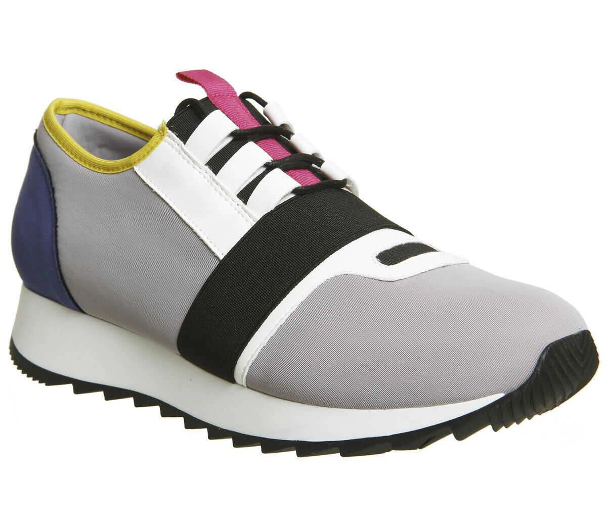 OFFICE WOMEN ACTION NEOPRENE RUNNER GREY MULTI COLOUR Size Euro 38 New.