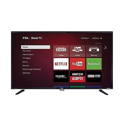 TCL  32-Inch 720p 60Hz Smart LED HDTV TV Roku TV Brand New 32S3800