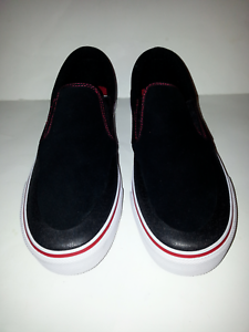 5fe1acb1bd9 DC SHOES MEN S TRASE SLIP-ON S RT SKATEBOARD SHOES SUEDE  ADYS300357 ...