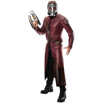 Deluxe Star-Lord Costume Adult Guardians of The Galaxy Halloween Fancy Dress