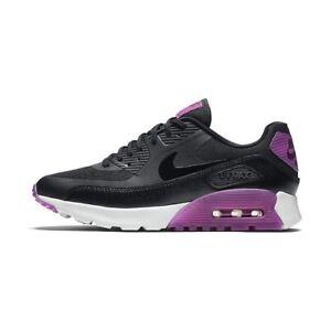 Details about Wmns Nike Air Max 90 Ultra Essential UK 4 EUR 37.5 Black Purple Dust 724981 003