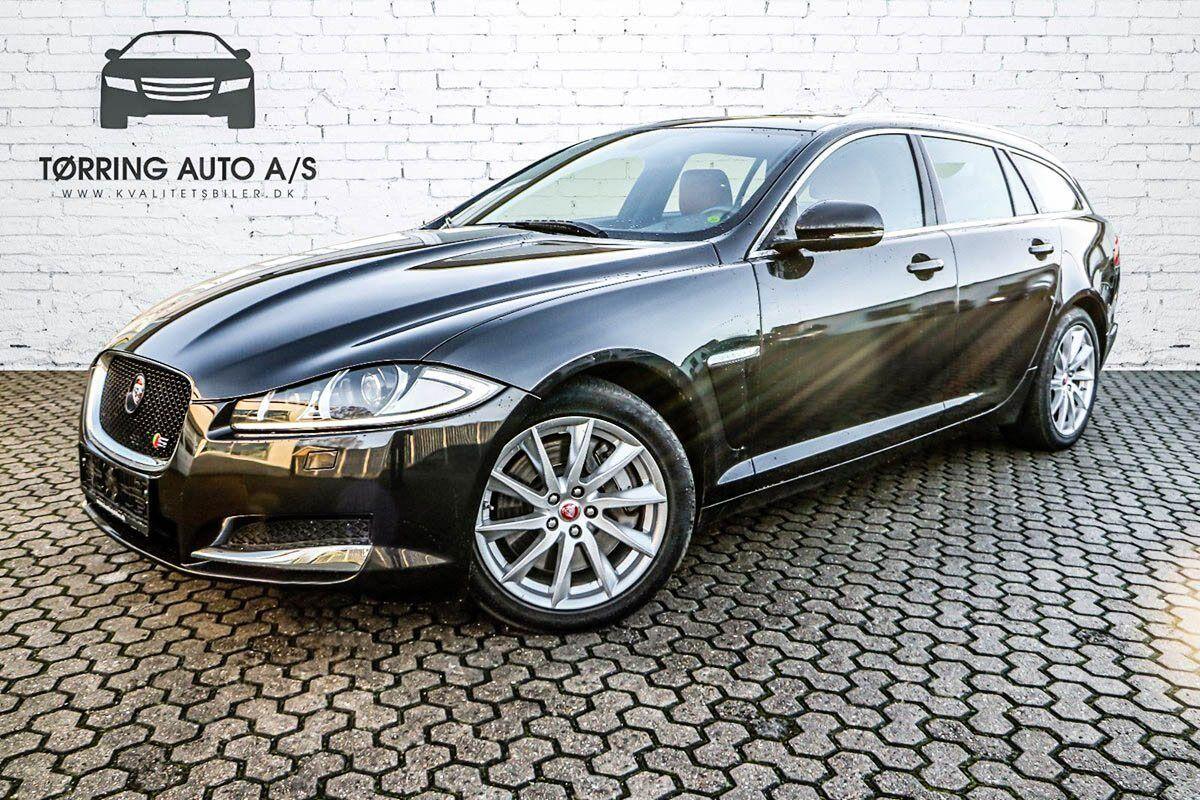 Jaguar XF 3,0 D V6 S Portfolio SB aut. 5d - 439.900 kr.