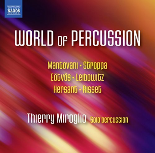 VARIOUS-WORLD OF PERCUSSION  CD NEW