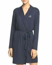 Calvin Klein Hashtag Sleep Jersey Knit Robe M L Sline Ship