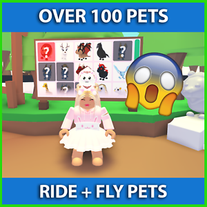 Adopt-Me-Pets-Fly-Ride-Pets-Common-To-Ultra-Rare-Pets-RF-FR