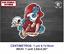 Dama de la Muerte Skull DMM152 Lady of Death Roses Dead Vinilo Sticker Decal