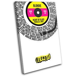10320f65e008 La foto se está cargando Blondie-Corazon-De-Vidrio-Record-Vinilo-Arte-de-