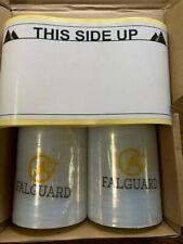Shrink Wrap Stretch Film 2 Rolls 5x1000 80 Gauge Clear Refills Only No Handles