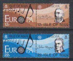 Isle-von-Mann-1985-Europa-Europaeische-Musik-Year-Set-MNH-Sg-286-9