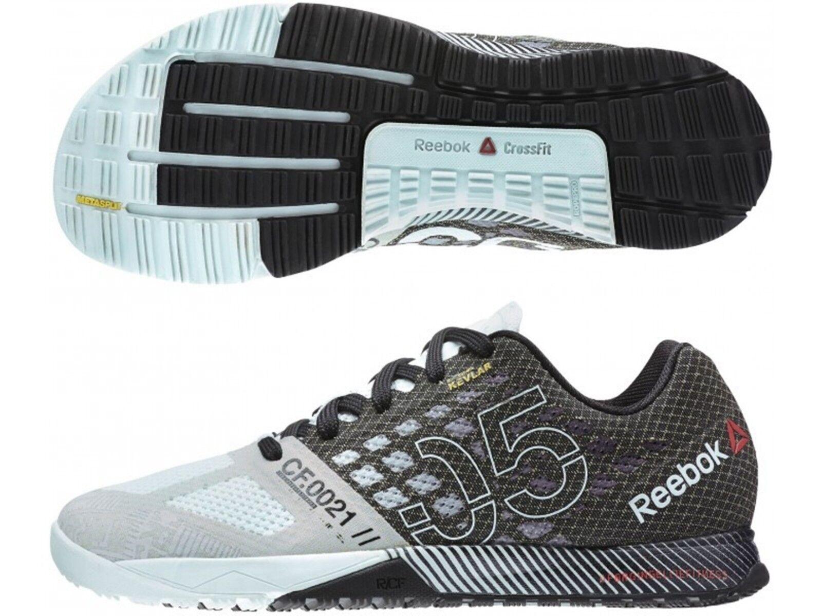 Reebok sz 7 Crossfit Nano 5.0 Men's shoes bluee Black Cherry V65894 NEW IN BOX