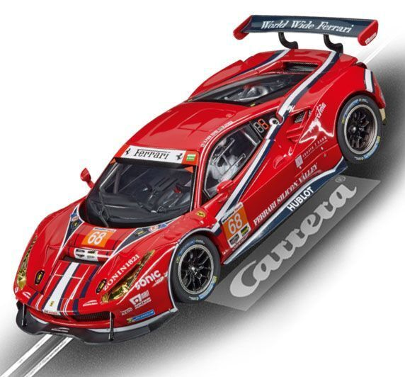 Carrera 27558 Ferrari 488 GT3 Scuderia Corsa Evolution Slot Car 1 32