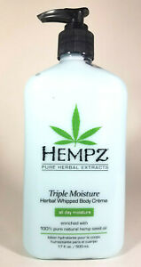 Hempz-Triple-Moisture-Herbal-Whipped-Body-Creme-Lotion-17oz