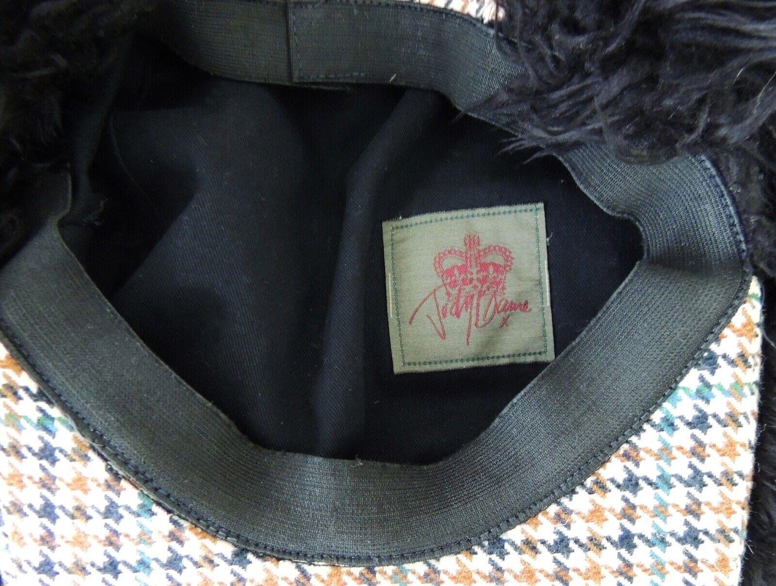 Judy Blame Christopher Nemeth Casket Newsboy hat … - image 4