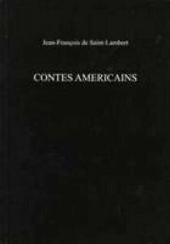 Prinzessin Americains von De Saint-Lambert, Jean-Francois