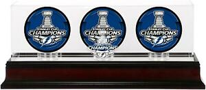 Tampa-Bay-Lightning-2020-Stanley-Cup-Champs-Mahogany-Three-Puck-Case-Fanatics