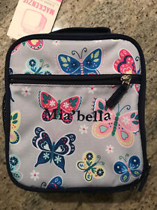 2p Pottery Barn Kids Rainbow Butterfly Large Backpack Classic Lunch Box No Mono