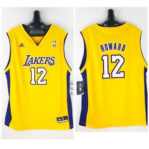 Details about NEW Dwight Howard Adidas LA Los Angeles Lakers Jersey Youth Large