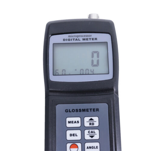 Glossmeter GM-026 Surface Cleaning Gloss Meter with RS232 Software /& Cable