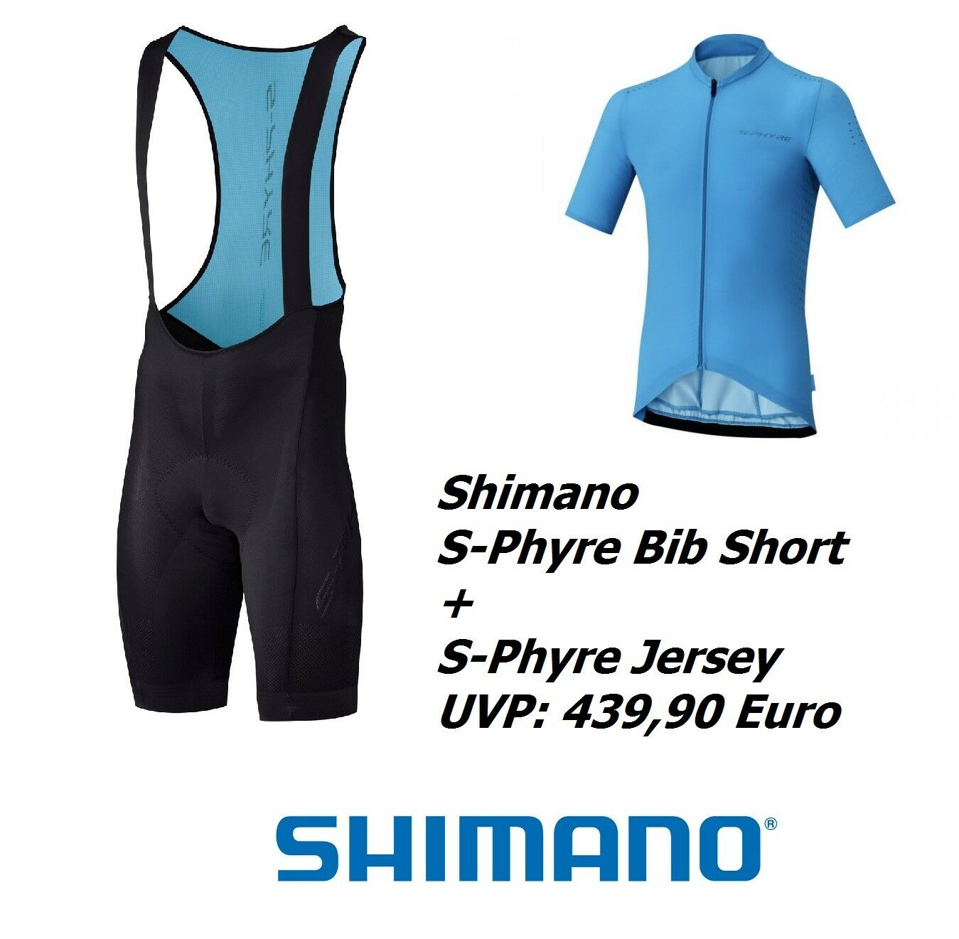 Shimano S-Phyre Bib Shorts and Jersey  439,95 Euro  187