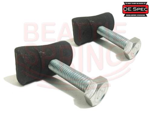 Pair Chevy GMC Cadillac Torsion Bar Adjuster Adjustment Bolt and Nut