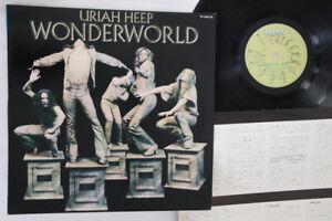 Lp Uriah Heep Wonderworld Yp7067bz Bronze Japan Vinyl Ebay
