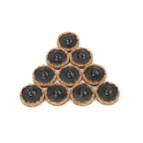 """30Pcs Assorted 1/"""" Roloc Type R Surface Conditioning Discs Threaded Twist Lock"""
