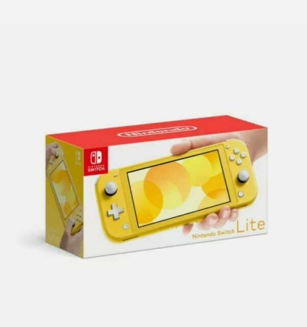 Nintendo Switch Lite Yellow Console 32GB - HDHSYAZAA -IB0002