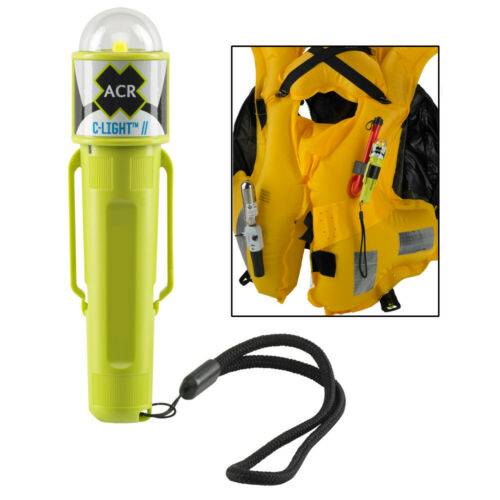 "ACR C-Light™ Manual Activated LED PFD Vest Light with Clip Size 5.06/""x1.38/""x1.2/"""